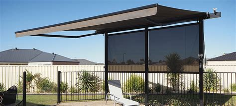 fold out awnings folding arm awnings watson blinds awnings