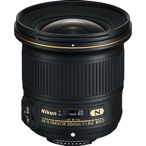 nikon af s nikkor 20mm f 1 8g ed lens 20051 b h photo