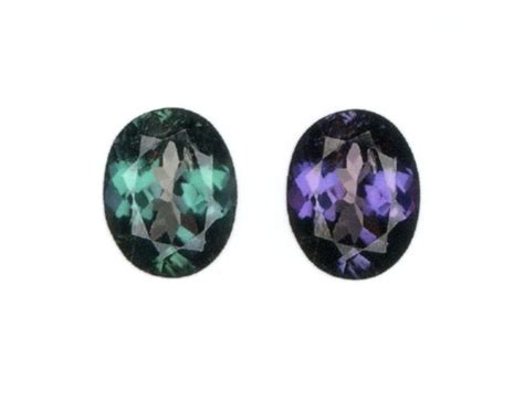 alexandrite color change alexandrite color change bluish green to purple 1 00