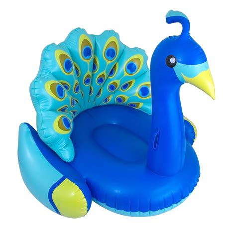 light up pool floats swimline peacock white swan light up swan
