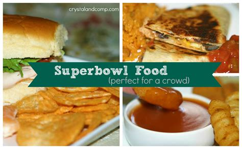 more super bowl sunday food recipes