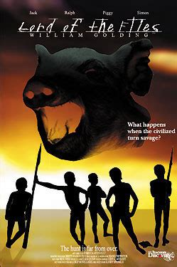 theme of lord of the flies movie lord of the flies movie poster english class website