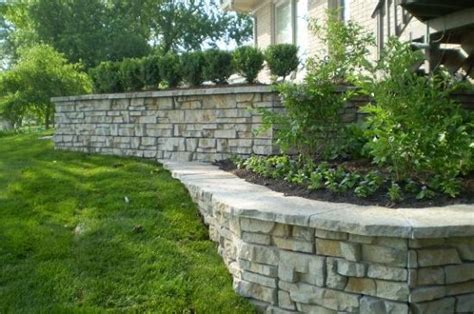Retaining Wall Planter Ideas by Build A Planter Wall Retaining Wall Photos