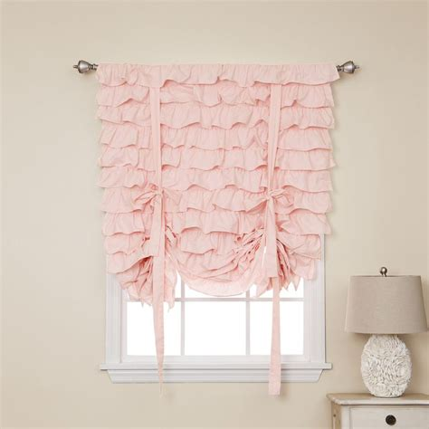 Bed Bath Shower Curtain curtain astounding ruffled pink curtains pink ruffle