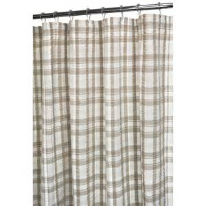 park b smith seersucker plaid shower curtain at hayneedle