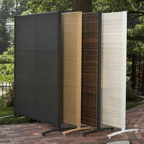 privacy screens for backyards add privacy outdoors with easy up screens curtains more