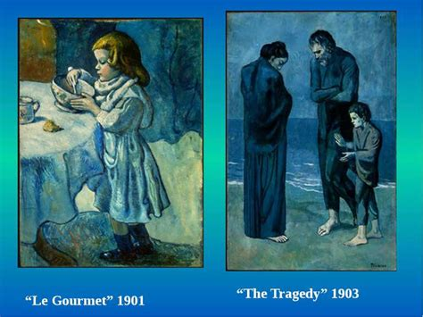 picasso paintings the tragedy quot pablo picasso quot презентація з англійської мови