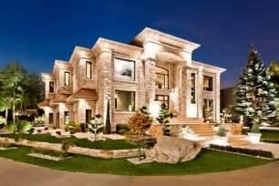 modern masterpiece 4 598 000 mansion exterior night modern big homes exterior designs new jersey home