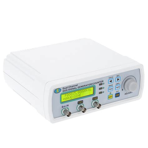 Dual Channel Dds Function Signal Generator Source Frequency 10mhz מוצר mini dds function signal source generator digital
