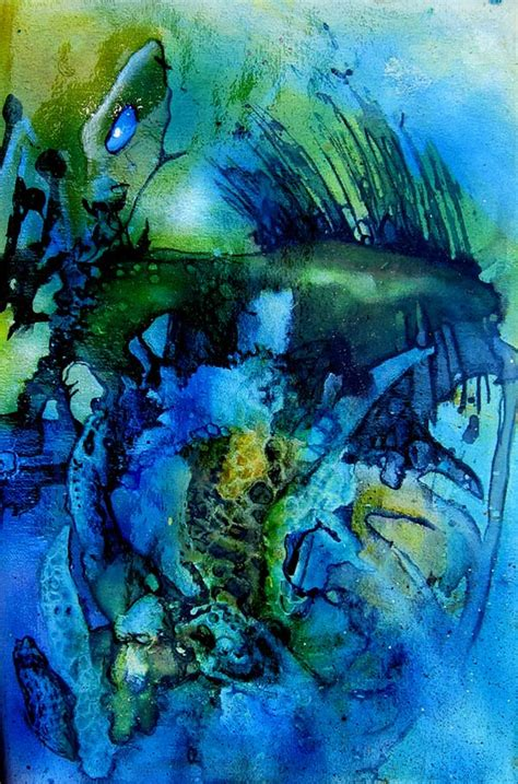 Outer Space Fishing Limited outer space limited edition print leonard aitken artist