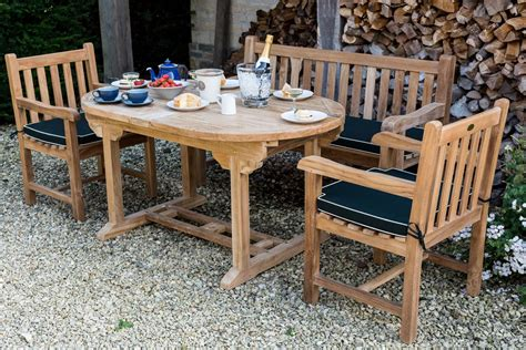 Teak Garden Chairs With Arms Teak Garden Chair Classic Strong Comfortable With