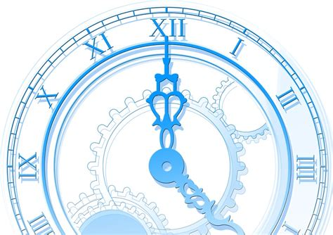 illustration time clock abstract  image