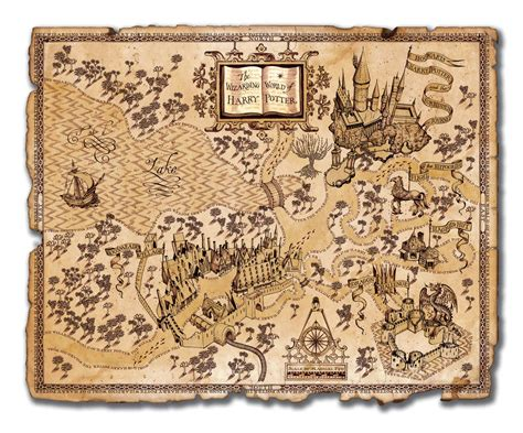 harry potter map potter sacquet and other tales on tolkien the hobbit and lord of the rings