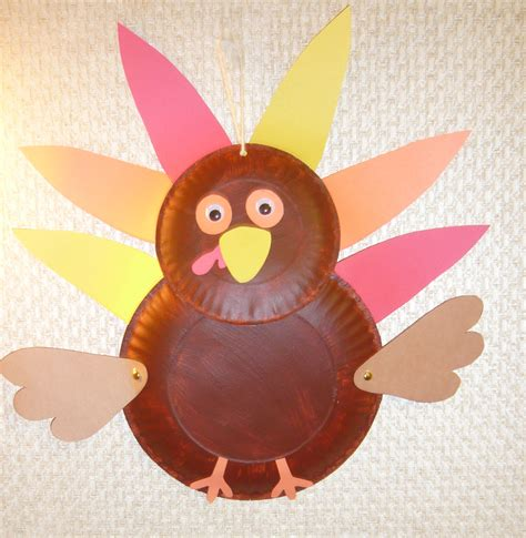 A Paper Turkey - scribble inspiring creativity 187 make a paper plate
