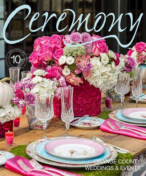 wedding flowers orange county california 2 ceremony magazine flowerfusion