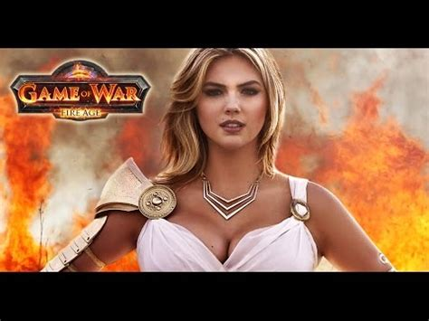 kate upton features in trailer for game of war fire age game of war live action trailer commercial ft kate upton