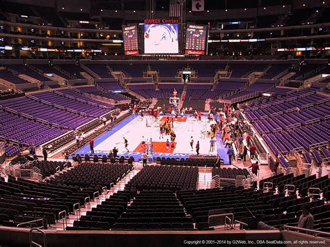 section pr 16 staples center section 207 seat view at staples center rateyourseats com