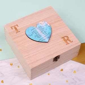 Wedding Keepsake Box Not On The High by Keepsake Boxes Notonthehighstreet