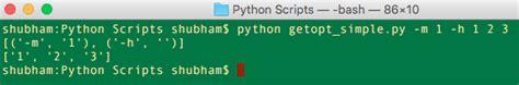 tutorial python getopt python getopt journaldev