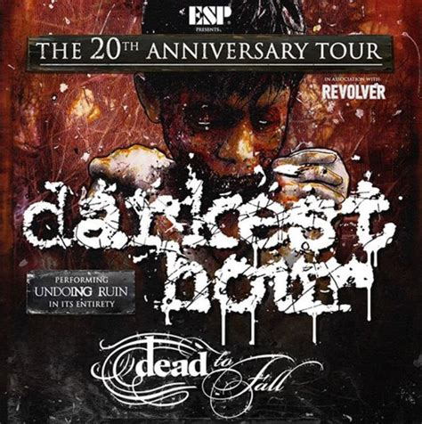 darkest hour undoing ruin darkest hour announce 20th anniversary shows with dead to