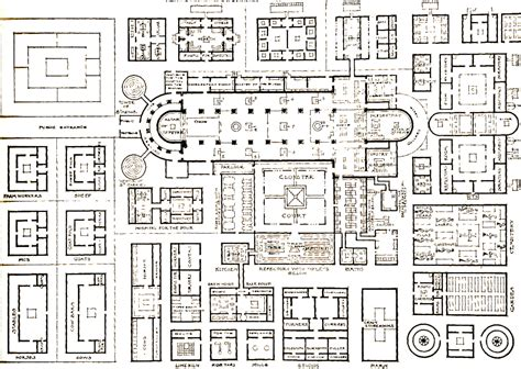 monastery floor plan monastery of st gall swit 820 plans roman to gothic