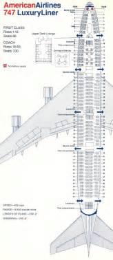 American Airlines Floor Plan 747 200 Range Config Errors