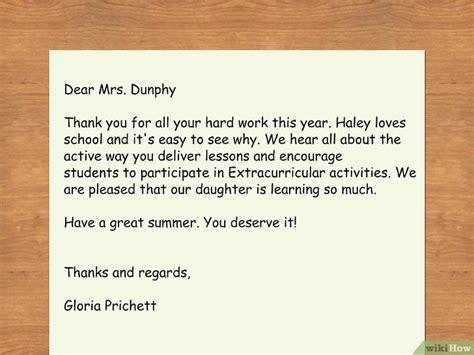 insegnante di lettere come scrivere una lettera all insegnante di tuo figlio