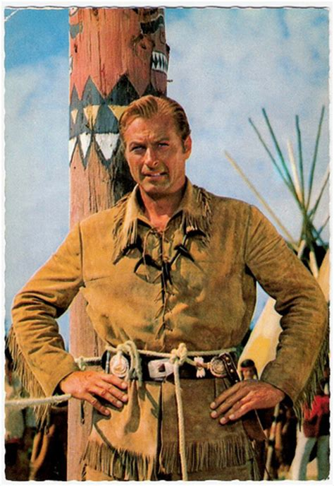 film gratis winnetou winnetou i lex barker german postcard e 23 photo