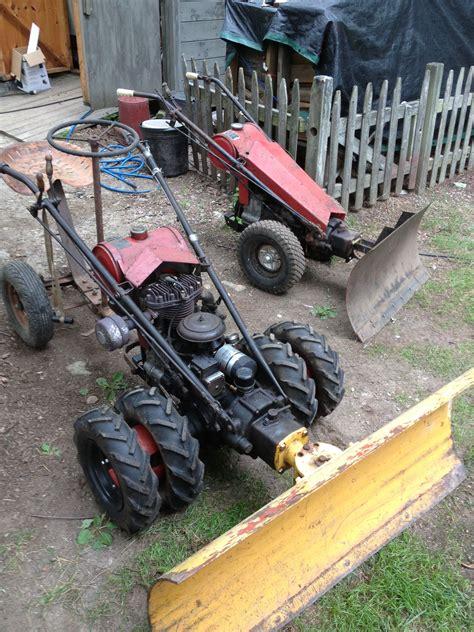 gravely plows yard tractors tractor mower walk