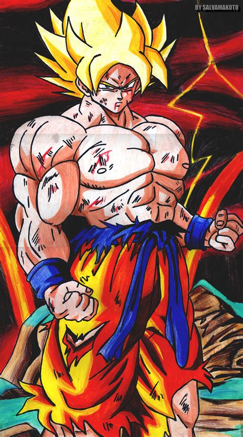 imagenes de goku legendario goku el legendario super saiya by salvamakoto on deviantart