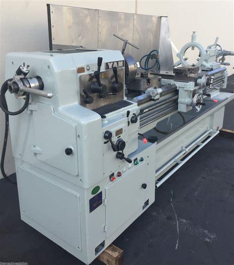 yam  geared head engine lathe machinestation