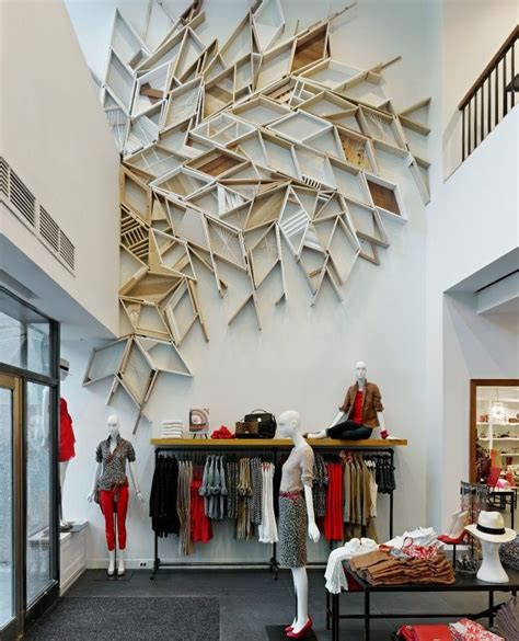 interior design wall ideas or by sculptural wall panels great wall sculpture retail display merchandising on