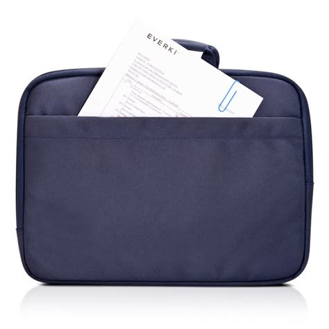 Everki Ekf861 Contempro Laptop Sleeves Bag With Memory Foam 11 6 Evbg1 everki ekf861 contempro laptop sleeves bag with memory foam 11 6 inch navy blue