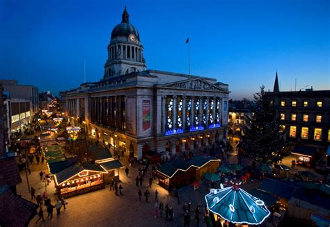 christmas light switch on events in the east midlands