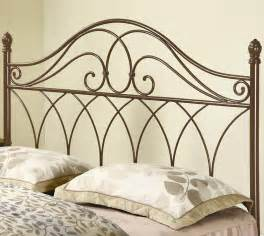 iron beds and headboards brown metal headboard