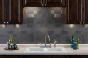 Aluminum Kitchen Backsplash by Diy Install And Care Metal Tile Backsplash Smart Home