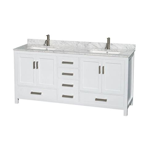 wyndham collection sheffield 72 inch w vanity in