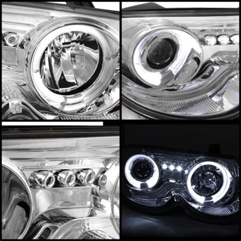 Chrysler 300m Headlights by Chrysler 300m 1999 2004 Clear Dual Halo Projector