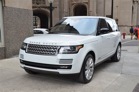 cost of 2014 range rover 2014 land rover range rover supercharged lwb used