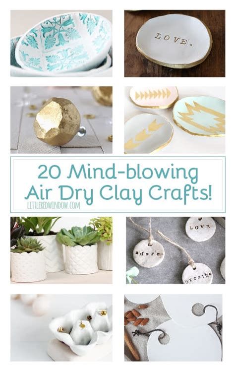 20 Mind Blowing Air Clay Crafts Window