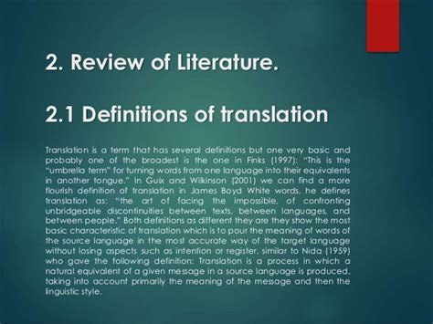thesis for translation essays in spanish translation