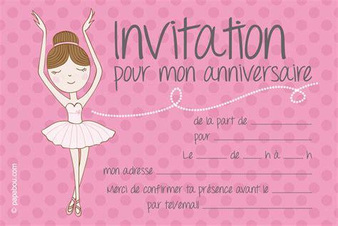 invitation 224 un anniversaire mod 232 le de carte d invitation