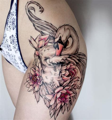 swan tattoo best 25 swan ideas on swan drawing