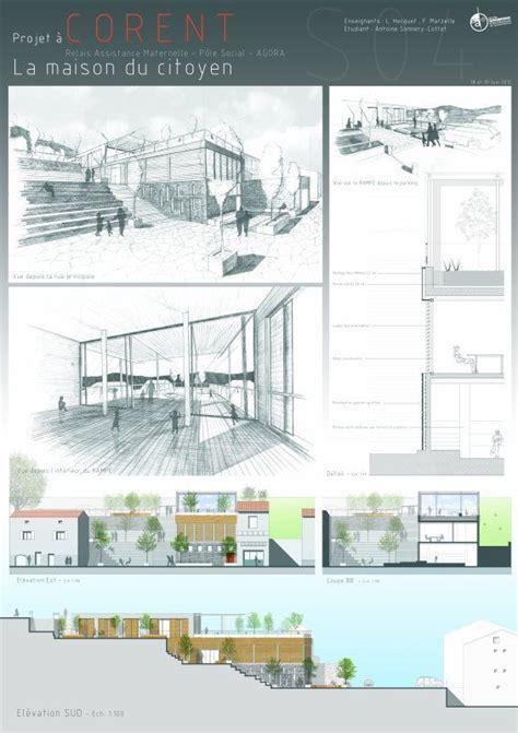 layout architecture pinterest architecture rendu final s4 19 juin 12 planches archi