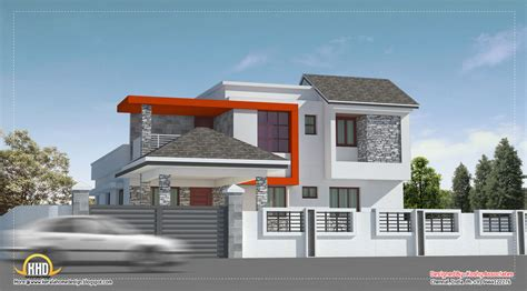 modern style house designs march 2012 kerala home design and floor plans