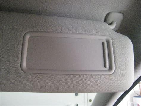 Sun Visor With Vanity Mirror by Mazda Cx 9 Sun Visor Vanity Mirror Light Bulb Replacement