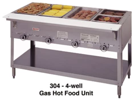 duke gas steam table duke 305 ng aerohot gas steam table food station 73