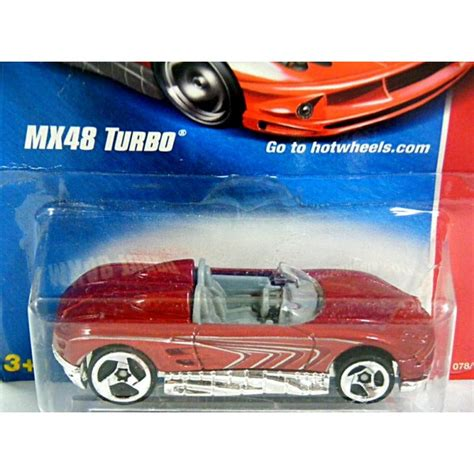 Mazda Mx48 Turbo Silver Hotwheels Wheels wheels mazda mx48 turbo concept vehicle global diecast direct