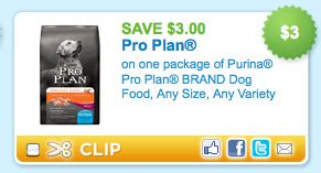 purina pro plan puppy coupons expired new 3 1 purina pro plan coupon 0 57 at walmart cha ching on a