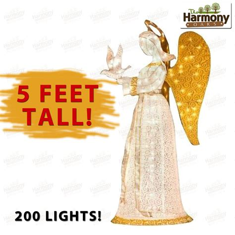 lighted angel outdoor christmas decorations yard christmas angel lighted decoration outdoor decor